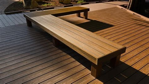 Built In Deck Bench Plans