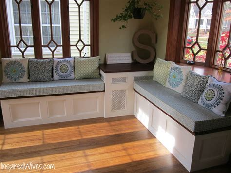 Built In Dining Bench Plans