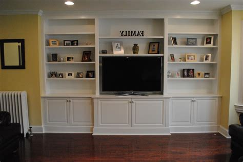 Built In Tv Cabinet Plans