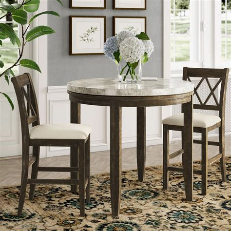 Bunch 3 Piece Counter Height Dining Set