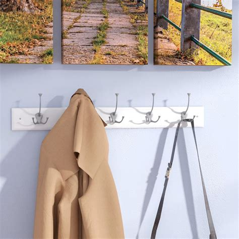 Burkart 5 Hook Coat Rack