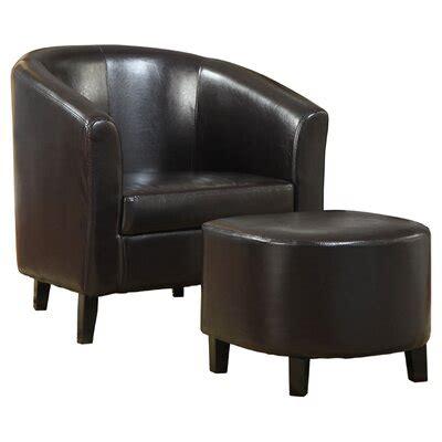Burke Barrel Chair and Ottoman