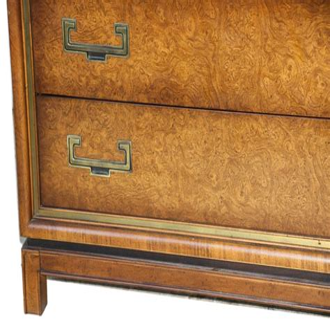 Burl Wood Dresser