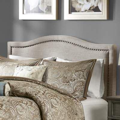 Burnwood Upholstered Panel Headboard