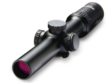 Rifle-Scopes Burris Mtac Rifle Scope 30mm Tube 1 4x 24mm.