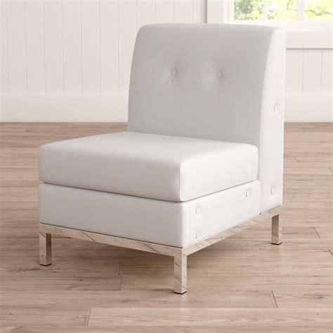 Buschwick Slipper Leather Guest Chair