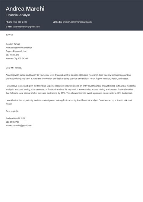 Business Analyst Cv Cover Letter | Professional Cv Template Free