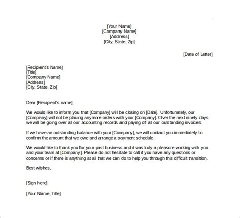 Business Correspondence Cover Letter Examples Business Letter Closing Examples The Balance