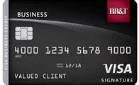 Business Credit Card No International Fee Bbt Visa Business Credit Card Business Bbt Bank