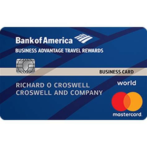 Business Credit Card Mastercard Business Advantage Travel Rewards World Mastercard Credit Card