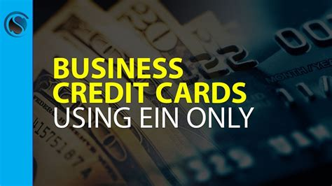 Business Credit Cards With Ein Number Only Business Credit Cards With Ein Only How To Build Business Credit