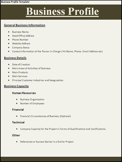 Business Plan Template Filetype Doc Company Profile Sample Download Free Documents For Pdf