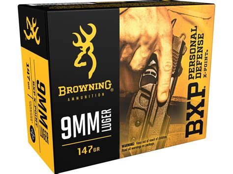 Ammunition Bxp Personal Defense X Point Browning Ammunition.
