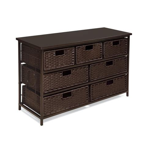 Byrnedale 7 Basket Wide Storage Unit