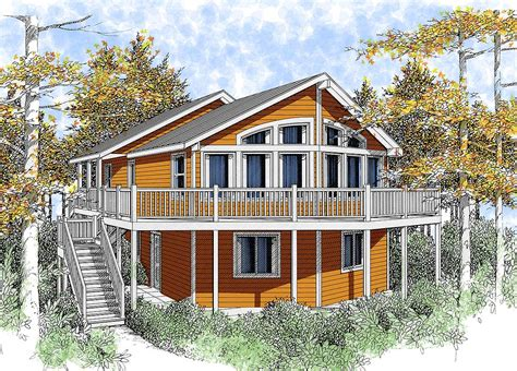 Cabin Plans Lakefront