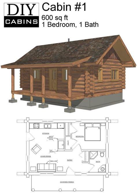 Cabin Plans No Bathroom