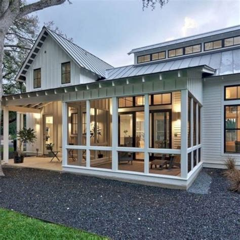 Cabin Plans Screened Porch