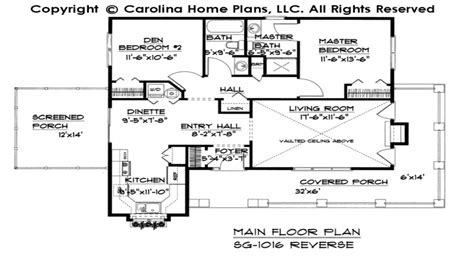 Cabin Plans Under 1100 Sq Ft