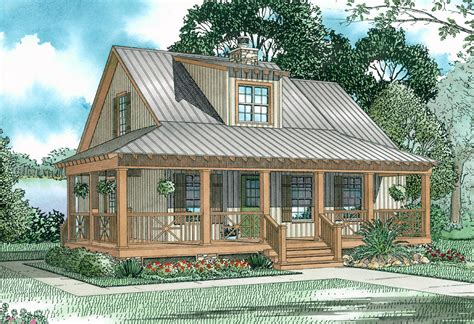 Cabin Plans With Covered Porch