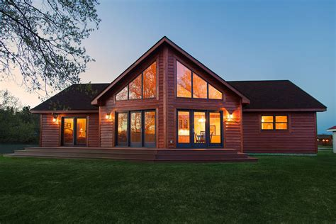Cabin Plans With Large Windows