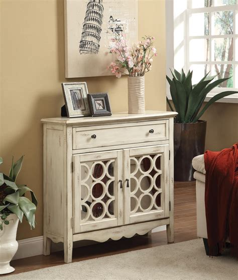 Cabinet with Mirror Accent Cabinet