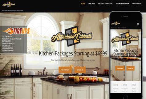 Cabinet Design Website
