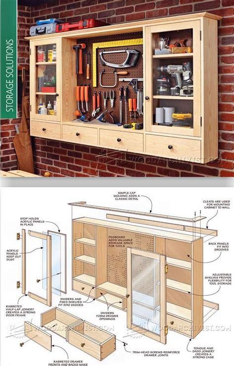 Cabinet Plans For Workshop