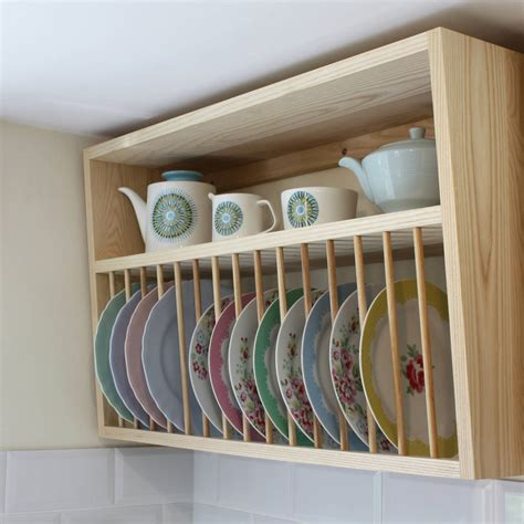 Cabinet Plate Rack Plans