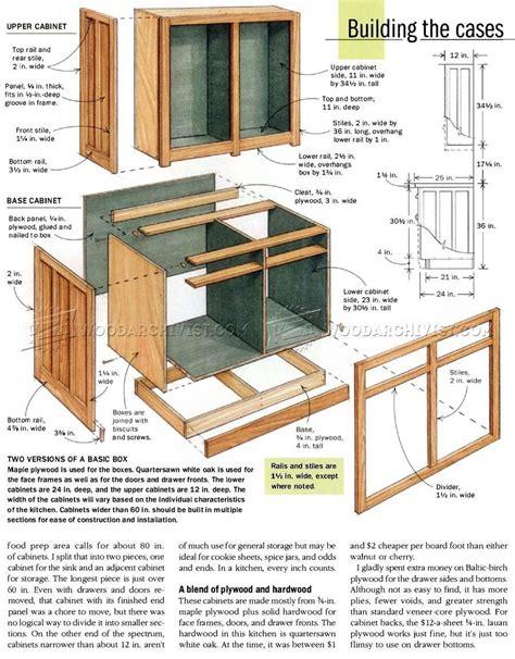 Cabinets Plans Pdf