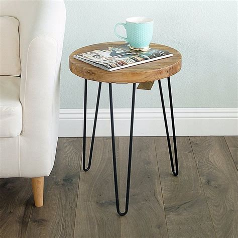 Cadet Old Elm Wood End Table