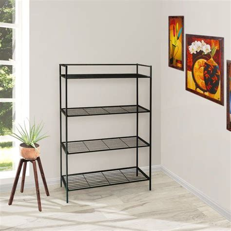 Cadogan 4 Shelf Metal Standard Bookcase