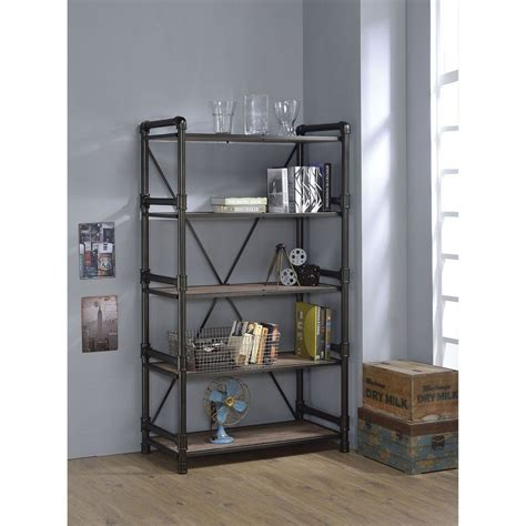 Caitlin Etagere Bookcase