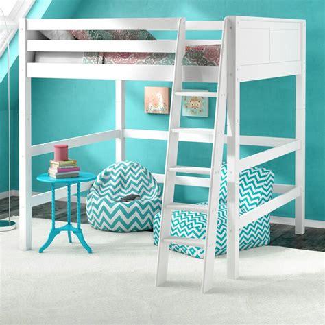 Caitlynn Full Loft Bed byViv + Rae
