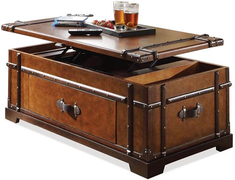 Caja Trunk Coffee Table with Lift Top