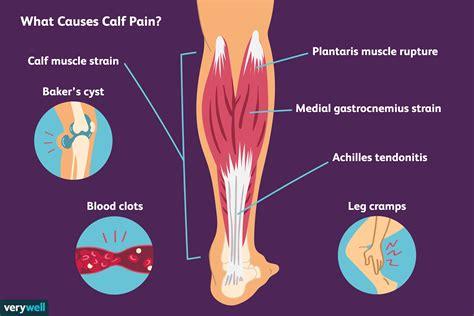 calf leg muscles pain causes gastrocnemius