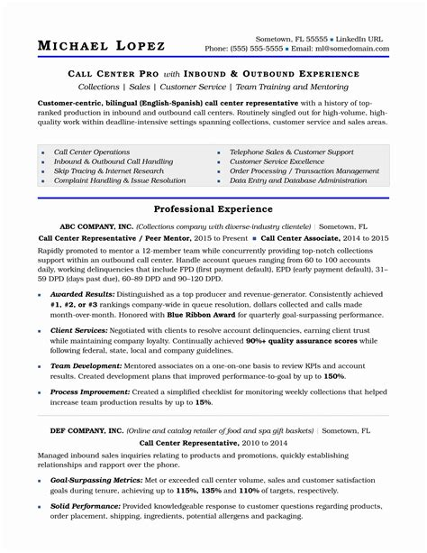 Resume Resume Format Bpo Jobs sample resume bpo experience job description essay call center manager best resume