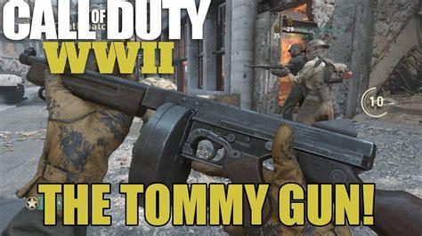 Tommy-Gun Call Of Duty Ww2 Tommy Gun.