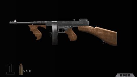 Tommy-Gun Call Of Duty Ww2 Tommy Gun How.