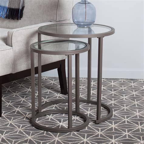 Camber 2 Piece Nesting Tables