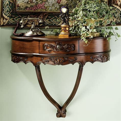 Camellia Wall Console Table