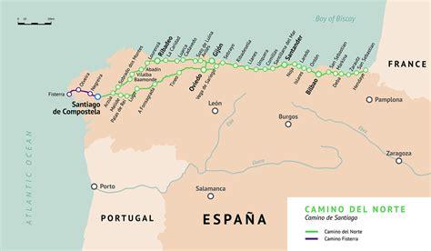 Camino Del Norte Map Pdf