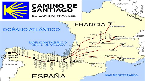 Camino Santiago Etapas