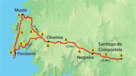 Camino Santiago To Finisterre