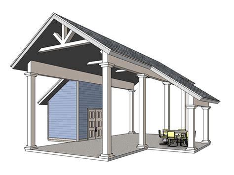 Camper Carport Plans