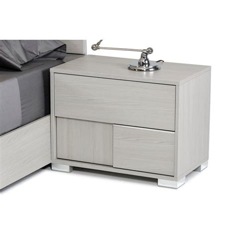 Camron 2 Drawer Wood Framed Nightstand