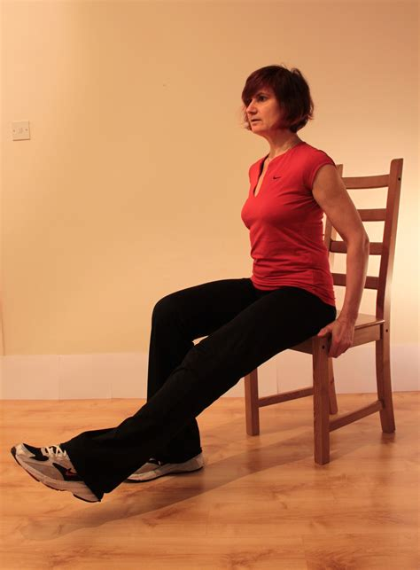 can't lift leg from sitting position knee