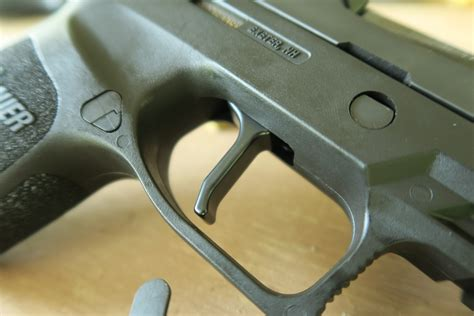 Sig-P320-Question Cant Pull Trigger On Sig P320.