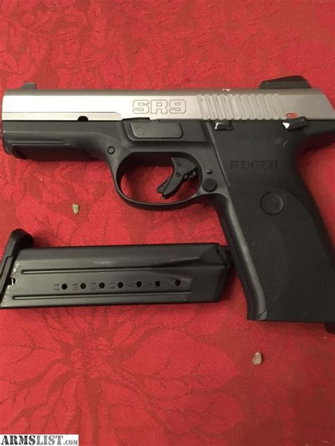 Ruger-Question Can You Get A Tlr6 For A Ruger Sr9.