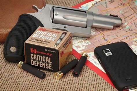 Taurus-Question Can You Shoot 410 Slugs From A Taurus Judge.