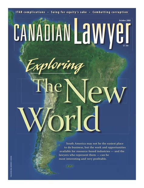 Corporate Lawyer In French Canadian Lawyer Mag